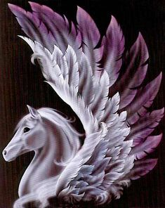 Name: Myst Breed: Pegasus Colour: Black Myst is very unknown. not many people or horses know her. Name: Passica Breed: Pegasus Colour: White Passica is very b Pegasus Tattoo, Horse Drawings, Animal Drawings, Magical Creatures, Fantasy Creatures, Fantasy Kunst, Winged Horse, Unicorn Art, Wow Art