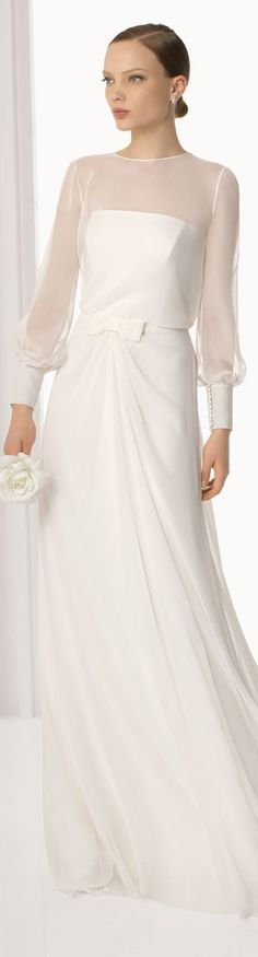 Wedding: Long Sleeve Dresses AUDREY