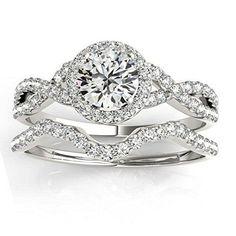2017 Trends: Twisted Engagement Rings & Wedding Rings - Deer Pearl Flowers
