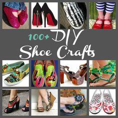 100+ Free DIY Shoe Crafts