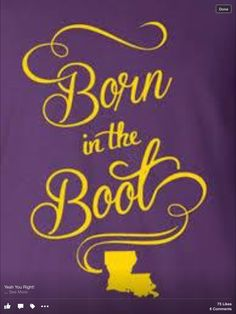 Born in the Boot!