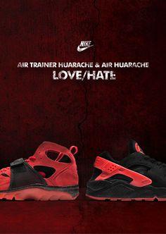 NIKE Huarache Love/Hate Pack