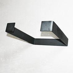 Raw Metal 45 cm U-formede bordben
