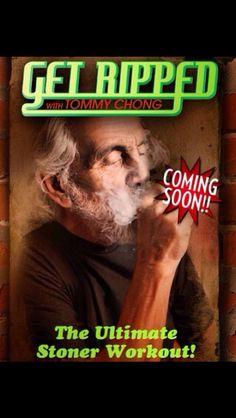 Cheech an Chong Cannabis, Cheech And Chong, Get Ripped, Everything Funny, Writing Jobs, Lol, Baseball Cards, Workout, Earth