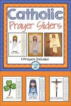 Prayer Sliders A hands on way to learn Catholic Prayers for kids. These are great for Religious Education and Faith Formation.A hands on way to learn Catholic Prayers for kids. These are great for Religious Education and Faith Formation. Catholic Schools Week, Catholic Religious Education, Catholic Crafts, Catholic Kids, Religious Studies, Catholic Prayers, Catholic Homeschooling, Catholic Traditions, Religious Gifts
