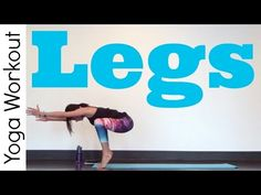 Legs - Power Yoga Workout - Totally new and great moves here! The Bear Squat Walk is intense. Definitely worth doing again