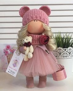 "599 Me gusta, 1 comentarios - ⠀⠀⠀Ручная работа⠀ Handmade  (@planet_of_handmade) en Instagram: ""Автор:  @natali_dolls  ・・・ Куколка ручной работы#кукла #кукларучнойработы #текстильнаякукла…"""