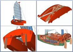 Catamaran, Kayaks, Build Your Own Boat, Construction, Boat Building, Sailing, How To Plan, Ships, Plywood Boat Plans
