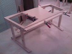 Building a studio desk