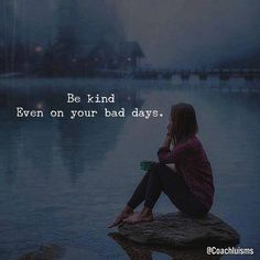 Positive Quotes : QUOTATION – Image : Quotes Of the day – Description Be kind. Sharing is Power – Don't forget to share this quote ! Short Inspirational Quotes, Short Quotes, Motivational Quotes, Cute Quotes For Life, Quotes To Live By, Bad Life Quotes, Remember Quotes, Simple Quotes, The Words