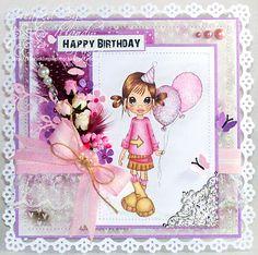 A Sprinkling of Glitter: Sooooooooo Cute - Paper Play DT Card