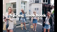 4 SPRING OUTFITS | LOOKBOOK | ANDREACLARE