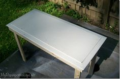 Instructions for a Simple rustic table