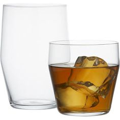 Station Glasses in Bar and Drinking Glasses | Crate and Barrel