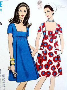 Vintage Outfits, Robes Vintage, Vintage Dresses, Vintage Clothing, Dress Making Patterns, Vintage Dress Patterns, 1960s Fashion, Vintage Fashion, Clubwear