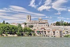 Catedral de Zamora - Panorámica desde el rio Duero