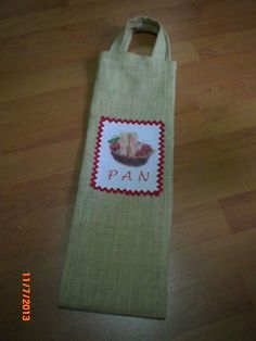 Bolsa para el pan Bread Bags, Maje, Quilts, Sewing, Crochet, Diy, Handmade Bags, Dish Towels, Cloth Napkins