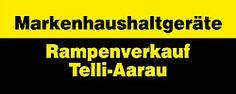 Rampenverkauf Telli-Aarau, Aarau, Waschmaschinen, Herstellergarantie, Markenartikel