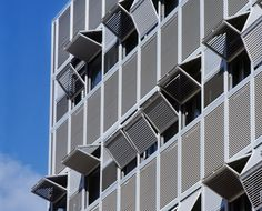 Louvered shutters folding upward in Valencia [466] | filt3rs