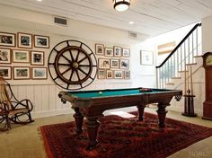 Awesome pool table room.   Rye, NY $11,950,000
