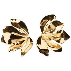 For fig lovers, a pair of fig leaf earrings by JAR - a new listing on @1stdibs this week.  #jewelsbyjar #18kgold #aluminum #figseason