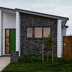 Schist Cladding - Home Exterior Ideas