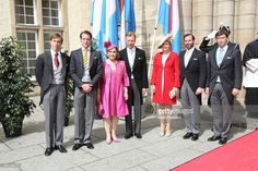 Prince Louis Prince Felix Grand Duchess Maria Teresa Grand Duke Henri Princess Stephanie Prince...