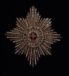 Order of the Elephant, star - Rosenborg Castle The Royal Danish Collections. Royal Crowns, Royal Jewels, Tiaras And Crowns, Crown Jewels, Artisan Jewelry, Antique Jewelry, Vintage Jewelry, Modern Princess, Baubles And Beads
