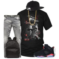 Jordan Infrared 6 T-Shirt| Tee Shirts| Mens T-Shirts| Mens Fashion by njdriveorders on Polyvore featuring polyvore, fashion, style, Jack & Jones, Acne Studios, ALDO, King Ice, Retrò and clothing