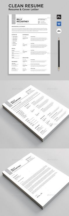 Resume CV Resume Summary, One Page Resume, Resume Tips, Resume Cv, Presentation Design Template, Resume Design Template, Cv Template, Resume Templates, Teaching Resume