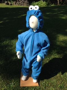 Child Size 2T/3 Cookie Monster Costume