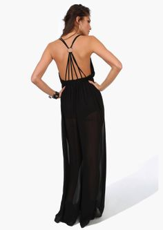 Goal: to rock a backless dress with a toned and defined back