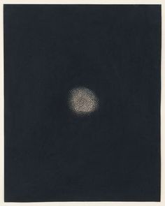 """Untitled  Yayoi Kusama (Japanese, born 1929)    1952. Pastel and ballpoint pen on paper, 14 7/8 x 11 1/2"""" (37.9 x 29.4 cm). Gift of Patricia and Morris Orden in memory of Michèle Fox. © 2012 Yayoi Kusama  209.1996"""