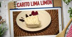 Carito Lima Limón es el postre de Carolina Mestrovic Dio, Cheese, Deserts, Kitchens, Faces