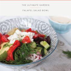 Summefield Delight | Garden Falafel Salad Bowl