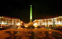 Площадь Победы в Минске, Беларусь | Belarus.by