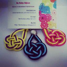 creazioni handmade - orecchini a nodo