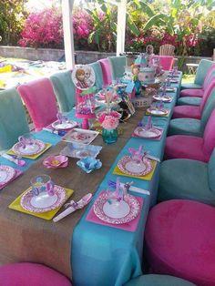 Frozen Vintage Party Theme Setup Birthday Party Ideas   Photo 4 of 26