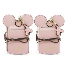 Amazon.com: YIEASDA Travel Neck Pouch, Cute Small Fashion Student ID Card Case Holder Coin Wallet Purse for Women/Girls/Children (Pink 2pack): Clothing Disneyland Tips, Branded Wallets, Student Fashion, Coin Wallet, Card Case, Pouch, Purses, Cute, Pink