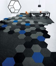 Hexagon Carpet Tile by Shaw Contract Group | 2013 Best of Year Awards: Product Winners | Awards | Interior Design