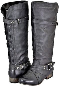 Amazon.com: Yoki Danni Black Women Riding Boots: Shoes