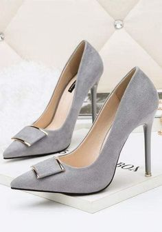 54 high heels for fastest possible copying # Pumps # Heel .- 54 high heels for the fastest possible copying # Pumps # Heels # Shoes # High Heels – Shoes – - Lace Up Heels, Pumps Heels, Stiletto Heels, Lace Shoes, Grey Shoes Heels, Grey Pumps, Women's Stilettos, Grey High Heels, Pretty Shoes