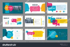 abstract presentation templates infographic elements template design set for brochures flyer leaflet magazine invitation card annual report questions and answers social networks talk bubbles Slides Powerpoint, Powerpoint Tips, Powerpoint Design Templates, Booklet Design, Brochure Design, Presentation Layout, Presentation Templates, Presentation Slides, App Design