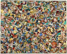 Lee Krasner. Composition, 1949,Philadelphia Museum of Art     Jackson Pollock would be 102 year old today if he were alive. It's a goo...