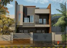 Le Riad, 2 Storey House Design, House Elevation, Bungalows, House Styles, Home Decor, Home, Decoration Home, Room Decor