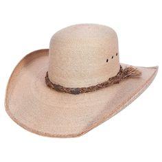 cc4147bf3ff Sahuayo Open Crown Palm Leaf Cowboy Hat