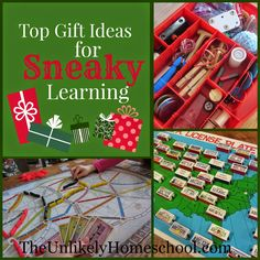 Top Gift Ideas for Sneaky Learning {The Unlikely Homeschool}