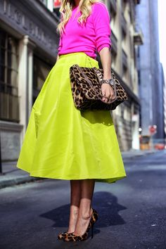 Skirt: Tibi  ( also here ). Sweater: Jcrew . Shoes: Giuseppe Zanotti ( also love these ). Purse: Valentino . Sunglasses: Karen Wal...