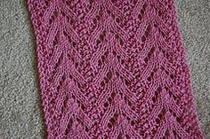 Ravelry: Beaded Lace Scarf pattern by Eleanor Swogger
