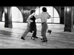 This is the most amazing tango:  one woman and three men dancing in a very intricate and complex choreography.  And the music is Libertango, a classic.